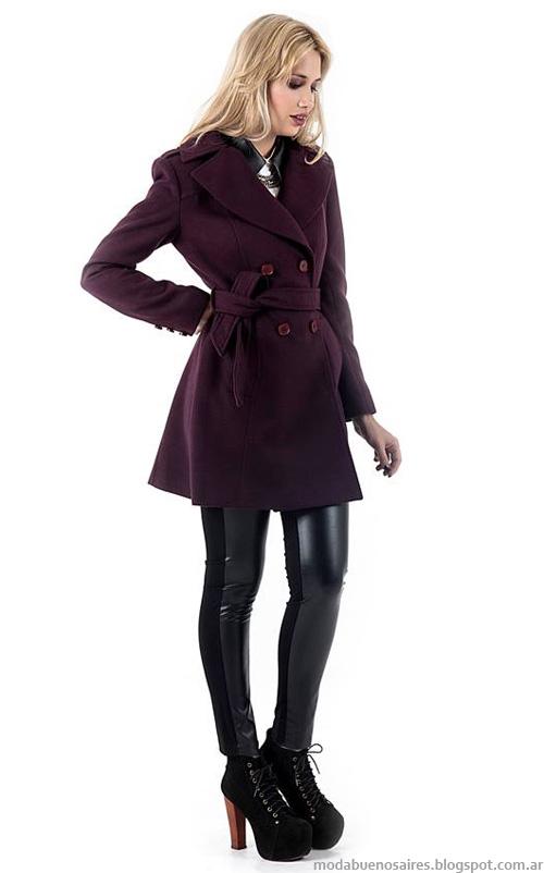 Moda otoño invierno 2014 Looks Activity otoño invierno 2014 abrigos: tapados y camperas de mujer.