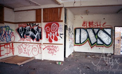 Landscape photography: Perth graffiti