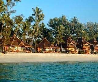 Beach in Burma