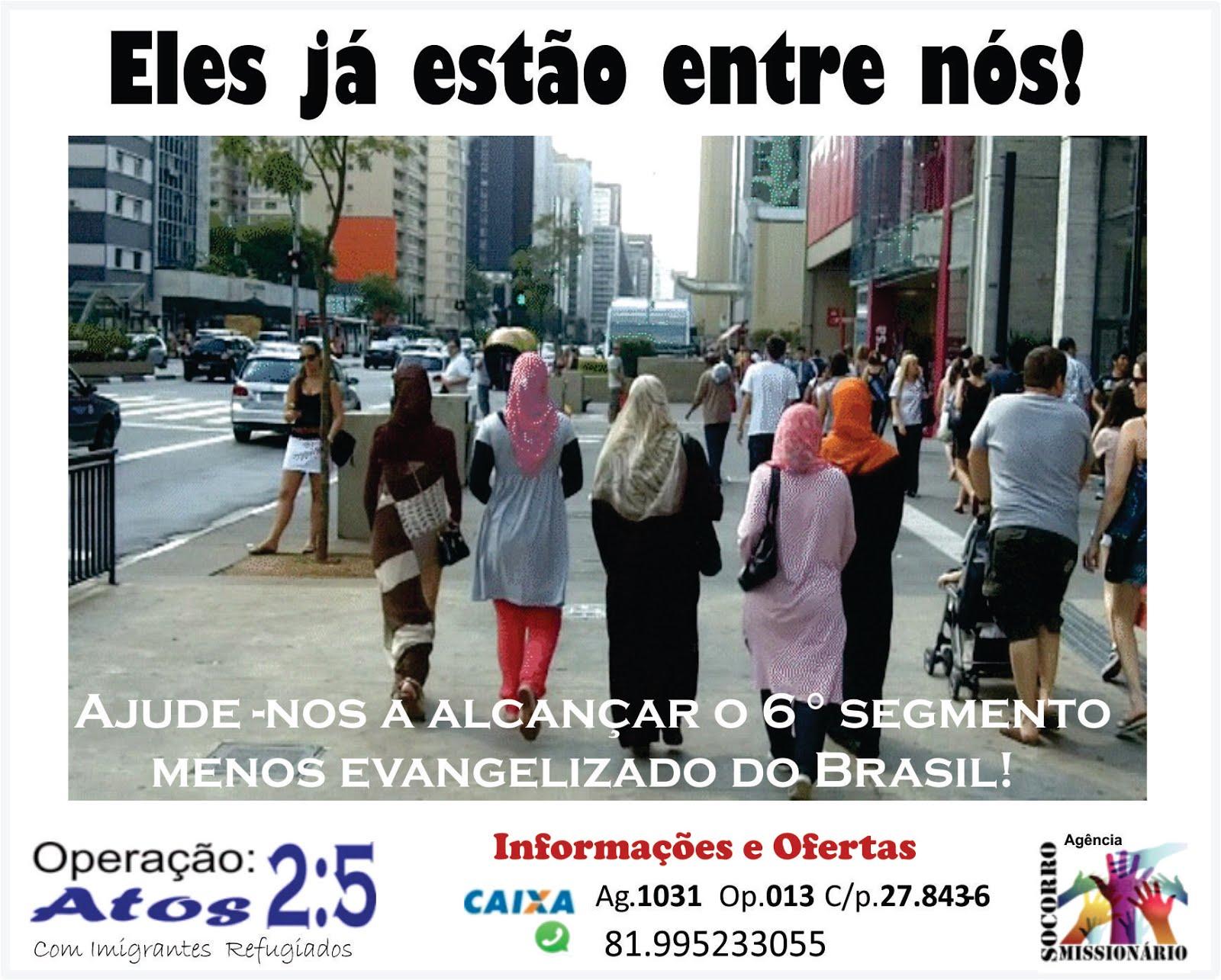 Ajude a Evangelizar Imigrantes e Refugiados!