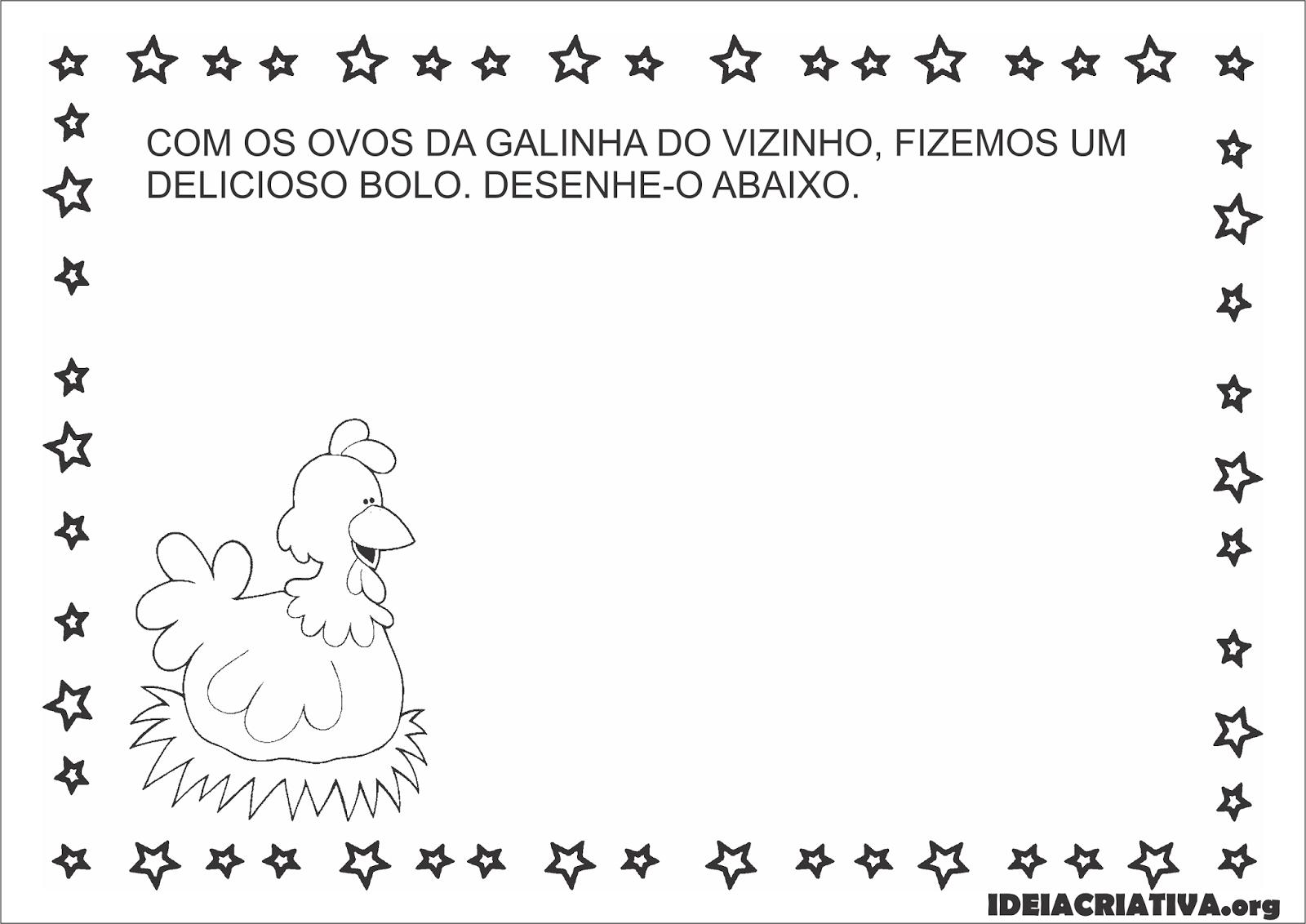 Well-known Sequência Didática Parlenda A Galinha do Vizinho Educação Infantil  MW06