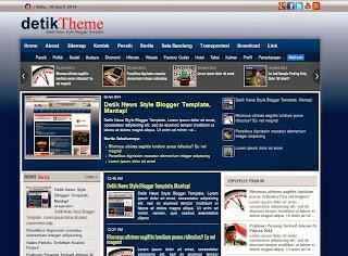 template blog mirip detikcom