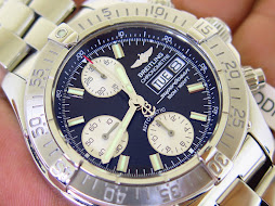 BREITLING SUPEROCEAN 500M/1650FT CHRONOGRAPH CHRONOMETRE - AUTOMATIC