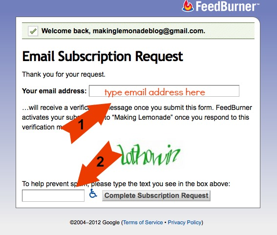 How to sign up for RSS feeds or blog via email