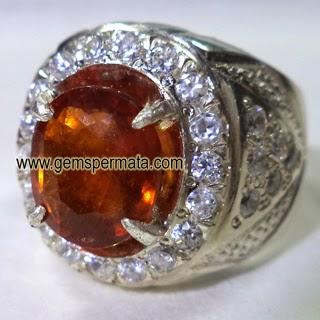 Batu Permata Hessonite Garnet Srilanka