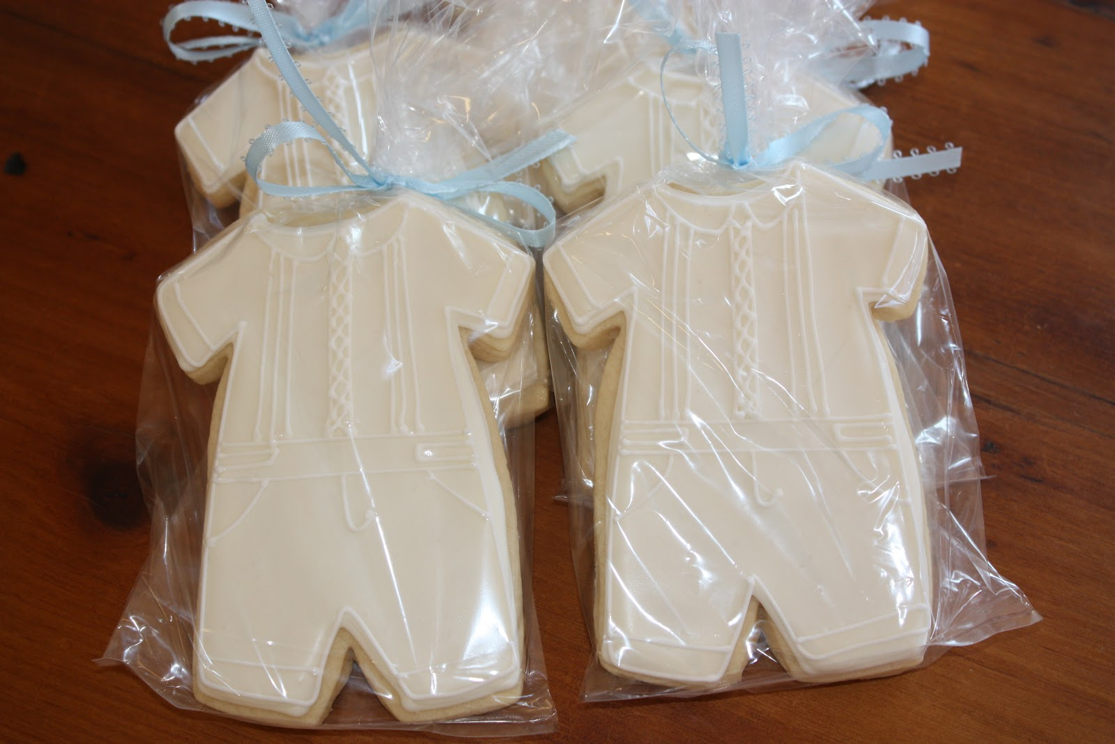Jackandy cookies baby boy christening favors - Giveaways baptism ...