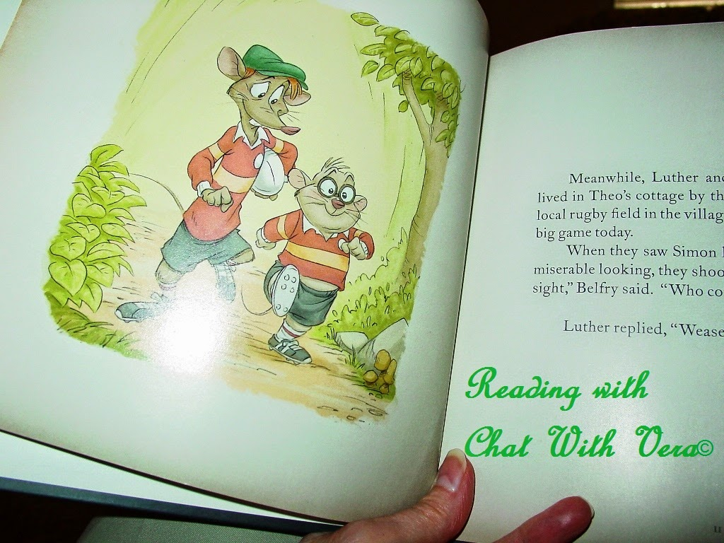 chat with vera the good rat theo tales of little overhill by