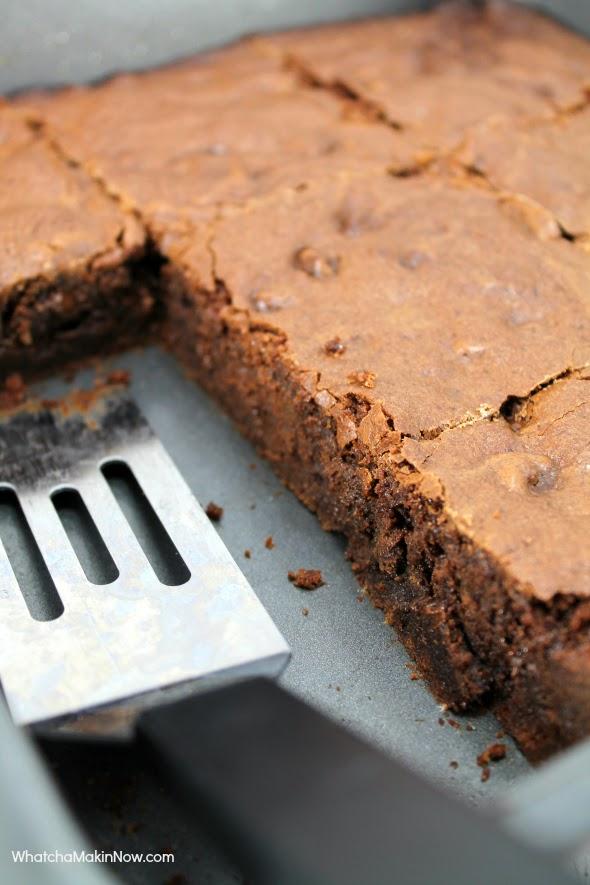 Fudgy Chocolaty Brownies - uses Espresso to make extra decedent!