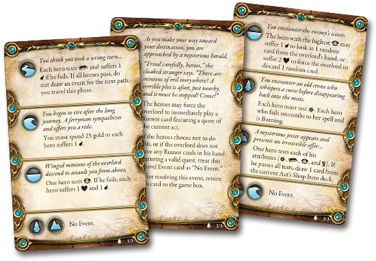 Descent - Cartas de Eventos