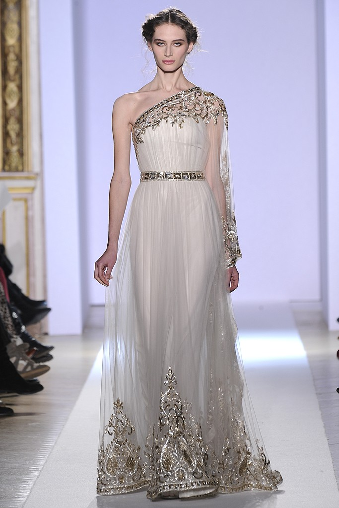 Estrella fashion report zuhair murad spring couture 2013 for Greek wedding dress designers