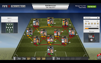 FUT Team of the Week (TOTW) 34 - May 2nd 2012