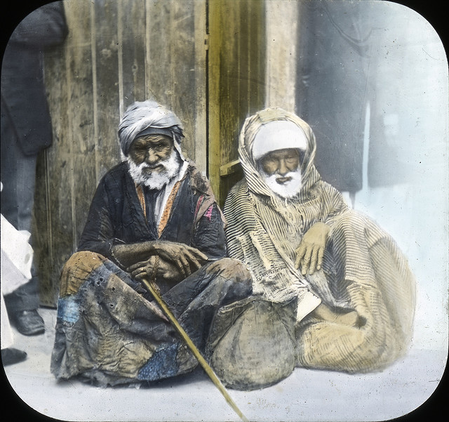Egypt - Beggars, Alexandria. Brooklyn Museum Archives.