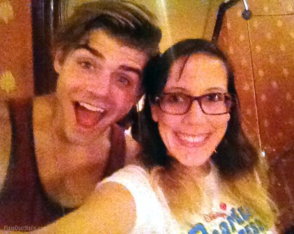 Garrett Clayton (Tanner in Teen Beach Movie) and me