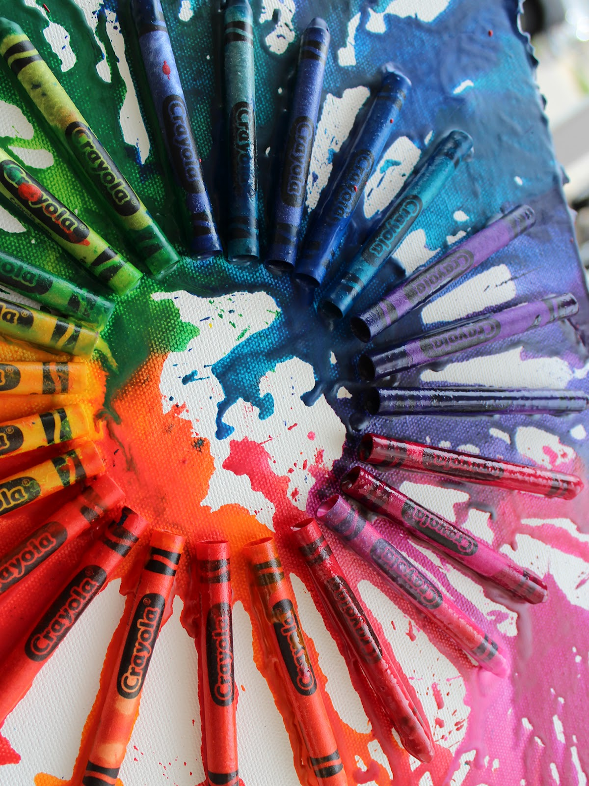 crayon projects Use up old crayons by making melted crayon art with the shavings make fun designs from different color schemes  more hands on kids activities to try art : diy.