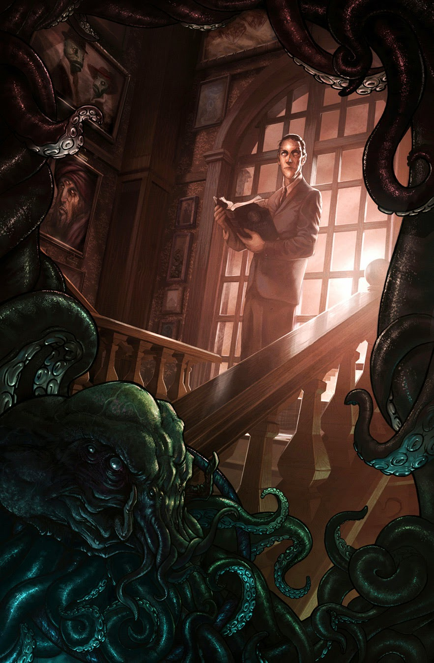 Barret Chapman: H. P. Lovecraft