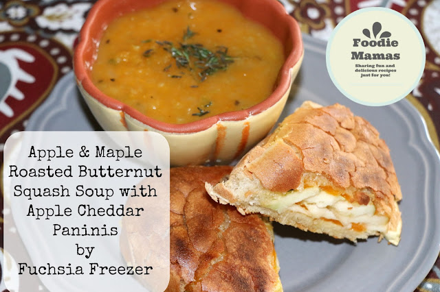 http://www.fuchsiafreezer.ca/2015/09/apple-maple-roasted-butternut-squash-soup-with-apple-cheddar-paninis-foodiemamas