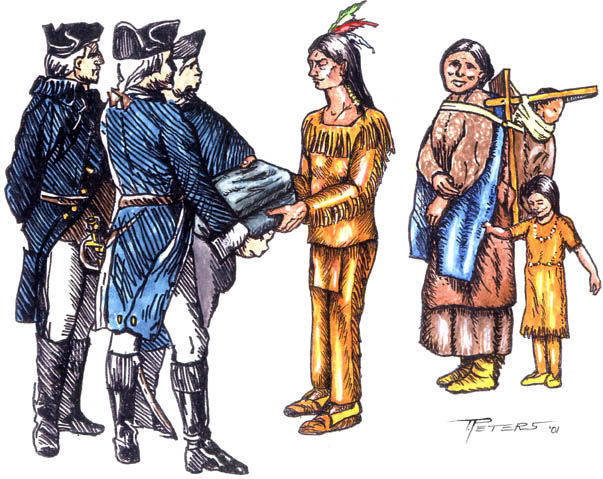 differences between native americans and europeans
