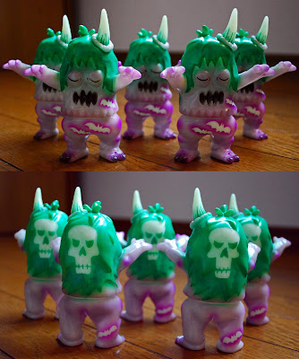 Halloween 2011 Glow-In-The-Dark Ugly Unicorn Sofubi Vinyl Figure by Rampage Toys