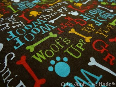 Dog Bed Fabric