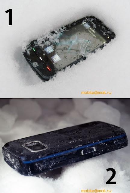 Nokia 5800 XpressMusic – Damage Test