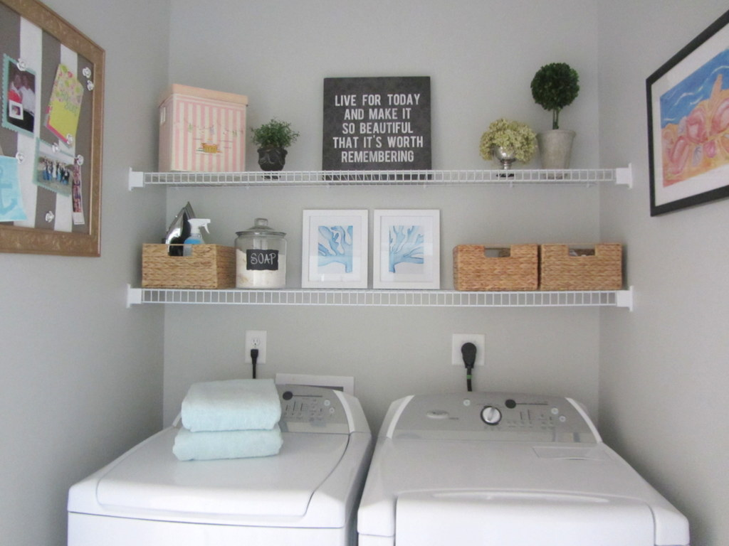 Laundry Room Frames Endearing Miss Dixie Laundry Room Update 2 Design Inspiration