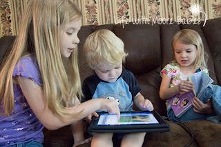 Blue Manor Curriculum iPad