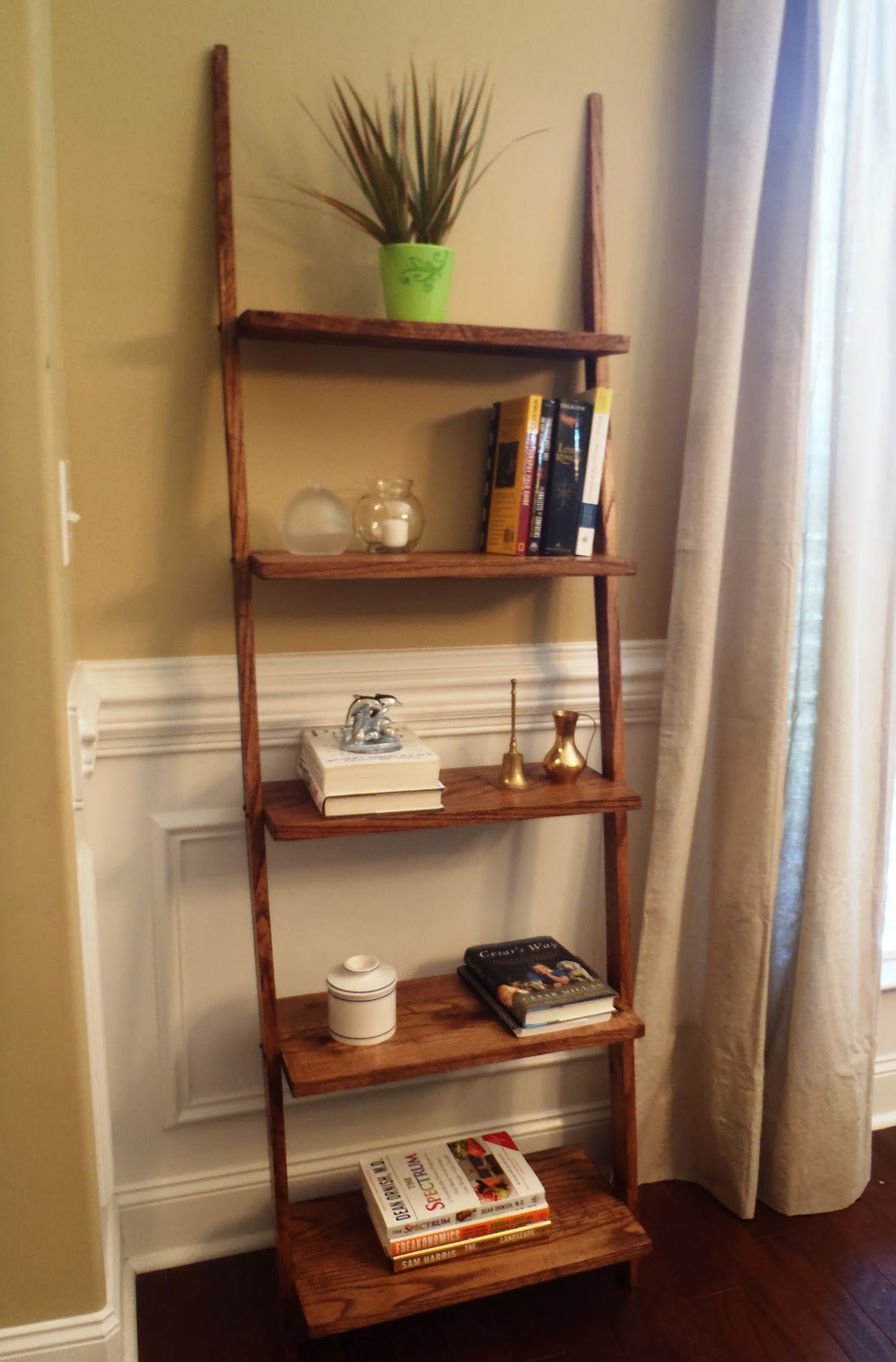 Lazy liz on less ladder shelves Where to put a bookcase in a room
