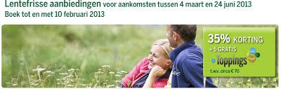 www.centerparcs.nl/jm8658 Lentefrisse aanbieding