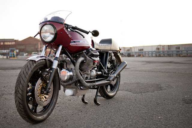 Moto Lovers  Moto Guzzi Le Mans 1100 Custom