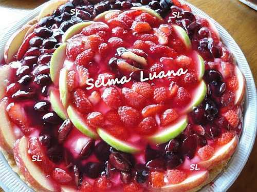 torta de, torta de frutas