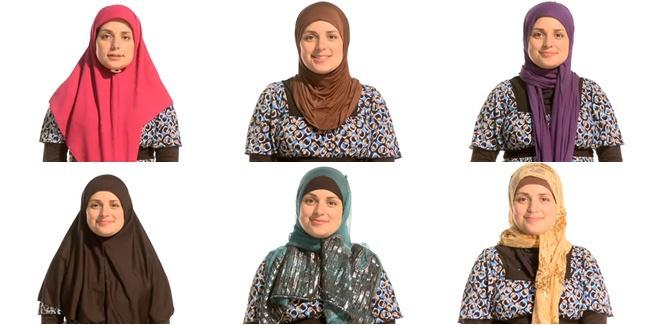6 Tutorial Hijab Dasar Cocok Untuk Pemula