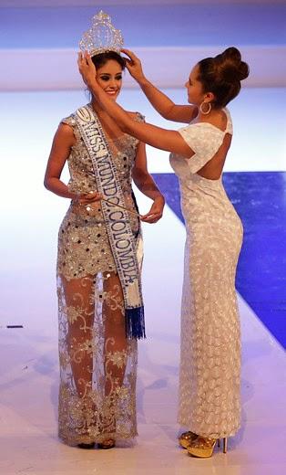 Miss World Mundo Colombia 2014 winner Jessica Leandra Garcia Caicedo
