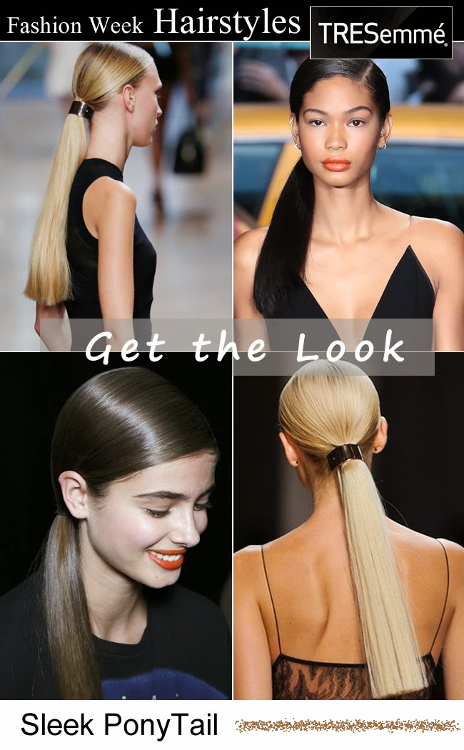 tresemme fashion week hairstyles