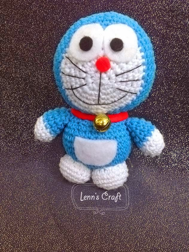 Lenns Craft ? Handmade doll? Amigurumi ? : Doraemon ...