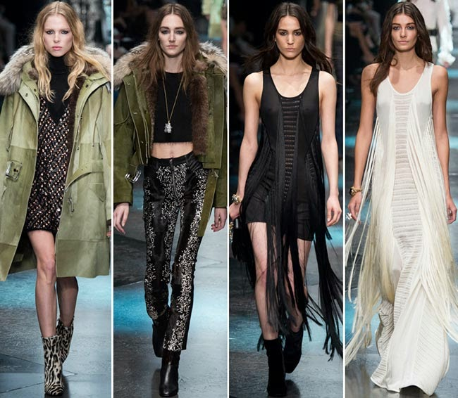 Feminity takes a new turn - Milan Fashion Week | Roberto Cavalli women's Fall-Winter 2015-2016 collection
