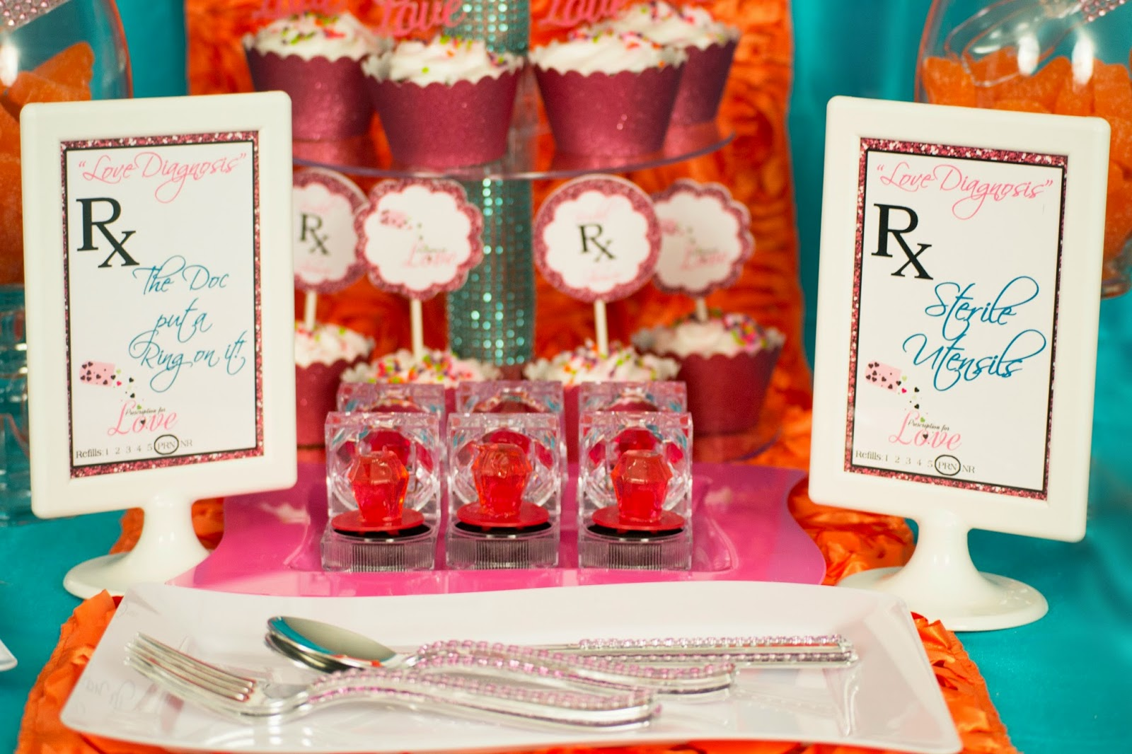 Prescription for Love} Bridal Shower - Lavish Events and Prints by Talia
