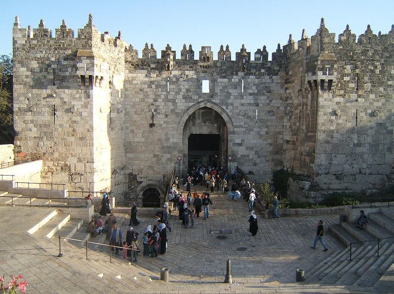 Ворота Старого Иерусалима smolta