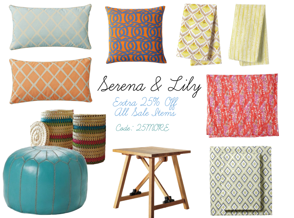 Sweet Southern Prep: Tuesday Trends: Serena & Lily Sale