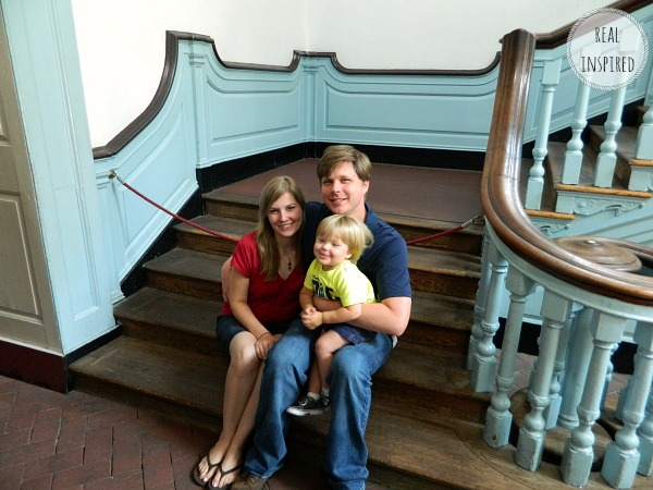 Family picture Independence Hall PA