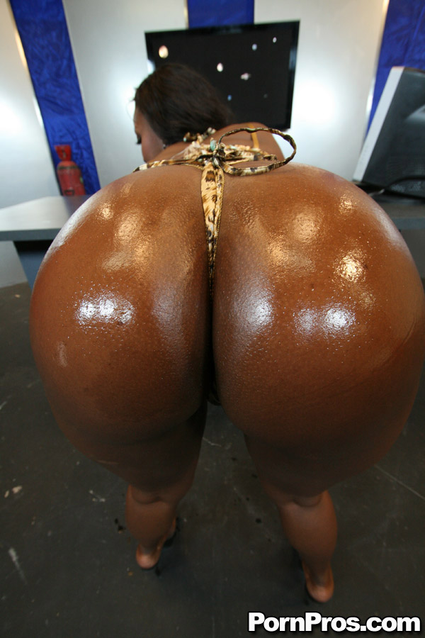 Black ebony huge ass