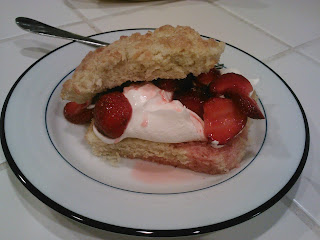 Recipe: Mildred's strawberry shortcake
