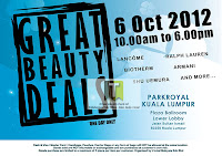 Lancome Biotherm Great Beauty Warehouse Sale 2012