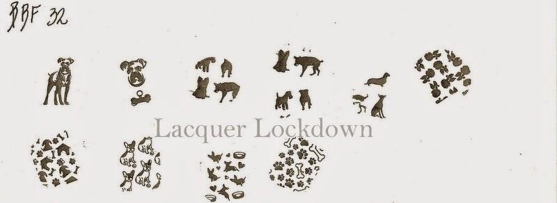 Lacquer Lockdown - Loja BBF, Loja BBF nail art stamping plates, nail art, stamping plates, new plates 2014, new stamping plates 2014, new image plates 2014, new nail art plates 2014, indie stamping plates, stamping, moyou london, konad, pueen 2014