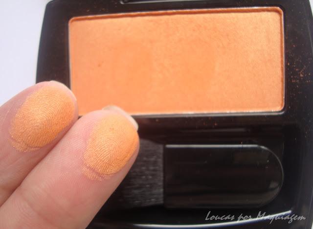 blush avon tangerina