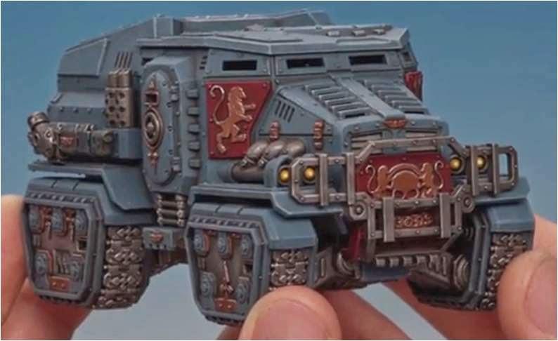 Cómo pintar un Taurox Prime