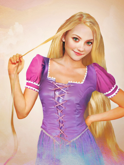 Rapunzel - Tangled (Enredados)