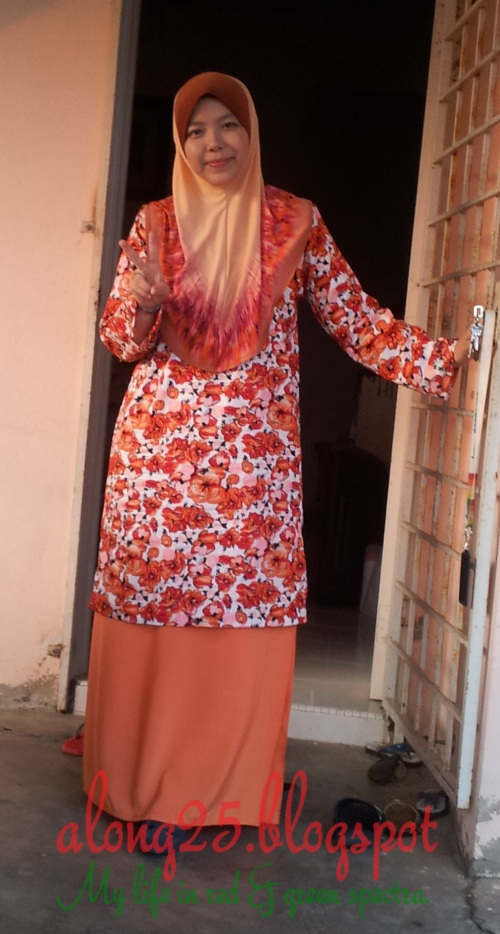 blog along25 kelas menjahit belajar menjahit bangi purtajaya muslim baju kurung amatur beginner sewing