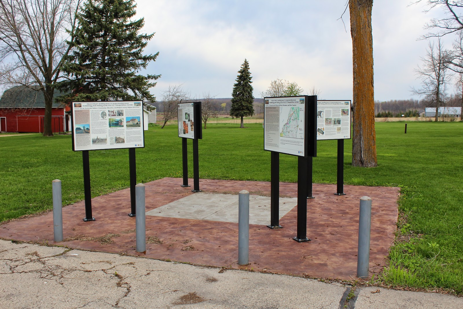 Wisconsin historical markers from first americans to for Center carrelage namur
