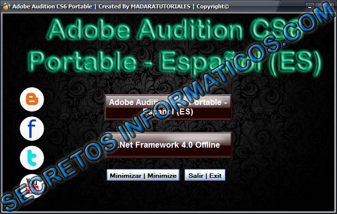 adobe audition cs6 portable english