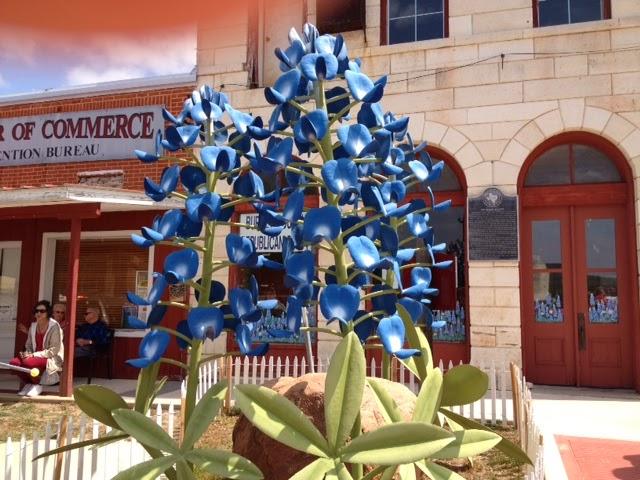 texas bluebonnet artwork
